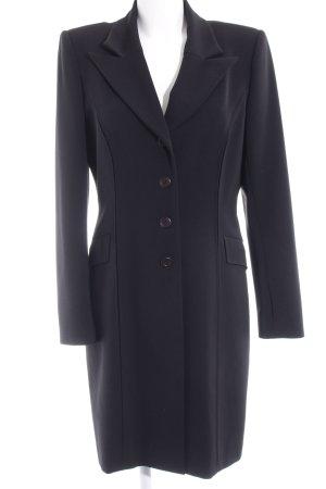 Abrigo corto negro estilo «business»
