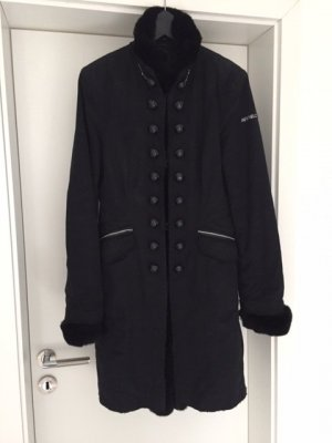 Airfield Jacket black-silver-colored