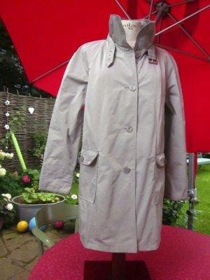 Basler Short Coat light grey-silver-colored mixture fibre