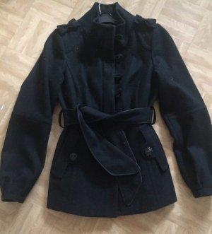Dept Abrigo corto blanco-negro