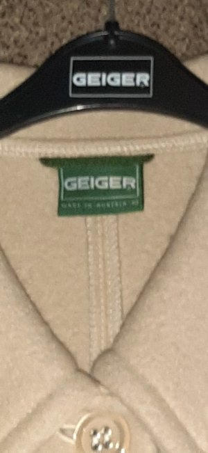Geiger Short Coat cream