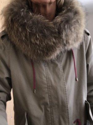 Malvin Abrigo corto beige