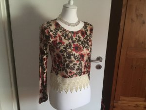 Crochet Shirt multicolored