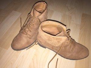 H&M Botas bajas marrón claro