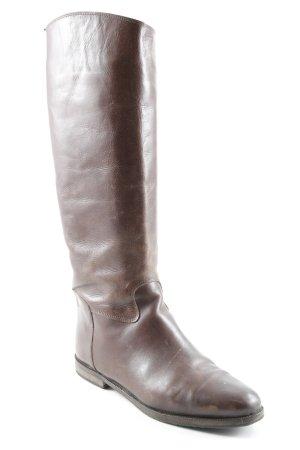 Korte laarzen bruin tweedehandse uitstraling