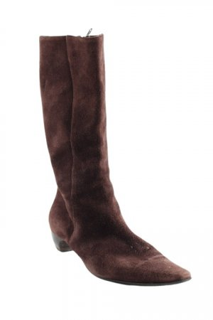 Short Boots dark brown classic style