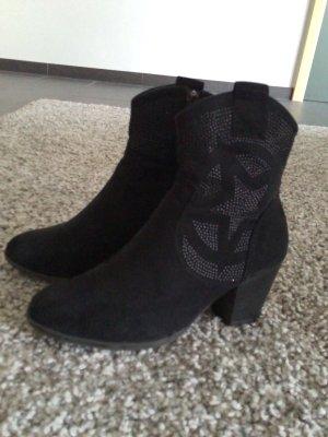 Pesaro Korte laarzen zwart