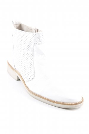 Short Boots white-cognac-coloured casual look