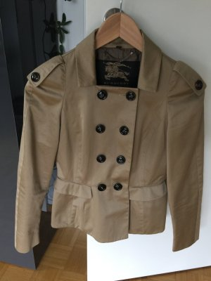 Burberry Prorsum Trench Coat sand brown cotton