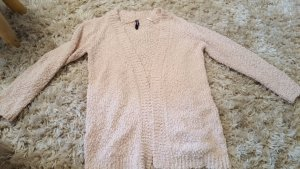 Colours of the World Coarse Knitted Jacket pink