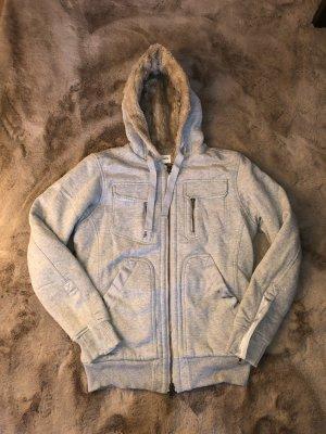 Diesel Giacca di pelliccia argento-beige