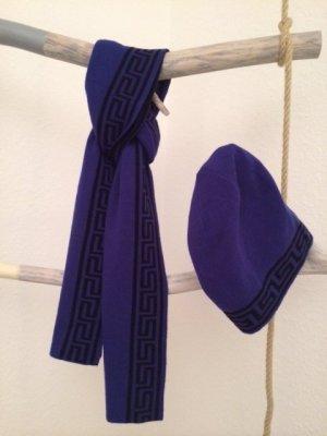 Kuschelig! Kaschmir-Mix Schal & Mütze von der H&M + VERSACE Collection