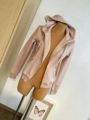 H&M Veste sweat rosé-rose clair