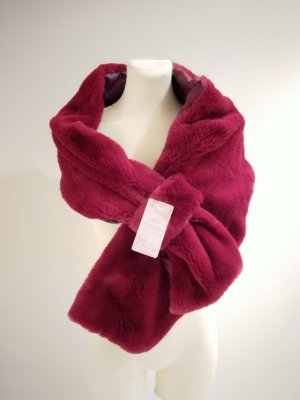 Snood carmine fur