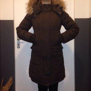 Kuschelig warmer Winterparker von HOX, Gr. S in braun