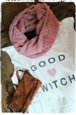 Sjaal stoffig roze-roze