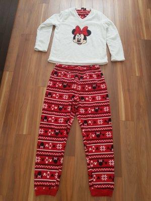 kuschelig, weiches Minnie Maus Pyjama in Fleece Gr. M