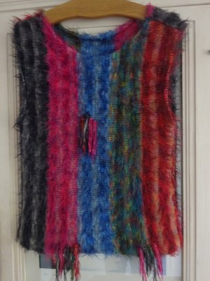 Fine Knitted Cardigan multicolored