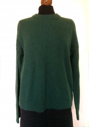 Weekday Oversized Sweater petrol wool