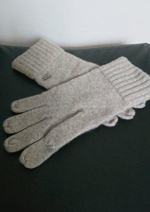 Emporio Armani Handschoenen lichtgrijs