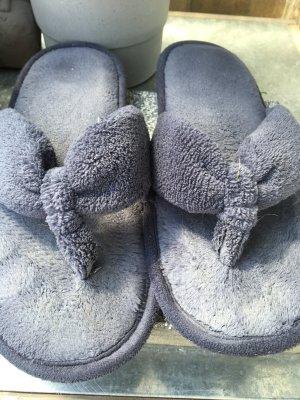 Tchibo / TCM Pantoufles gris ardoise