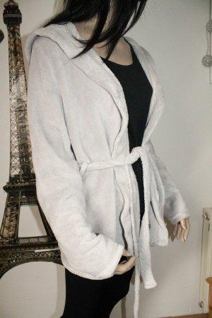 kuschelige Jacke mit Kapuze * Homewear * Fleece *  Oversize * Größe L *