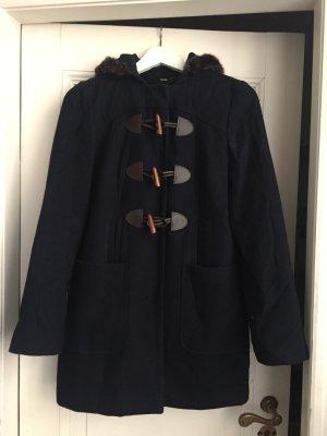 Kuschelige Jacke mit Kunstfellkragen