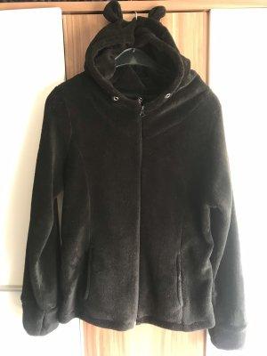 Kuschelige Jacke mit Öhrchen
