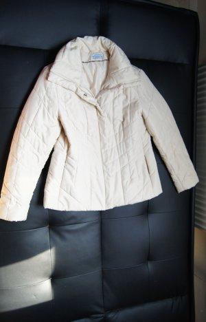 Kuschelige Jacke, Steppjacke, Kurzmantel in Natur/ Cremeweiß von Helline/Heine