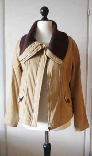 Kuschelige Jacke von Eddie Bauer Gr.38 camel/braun
