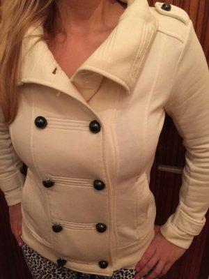 Kuschelige Jacke von Esprit in weiß/beige, selten getragen!