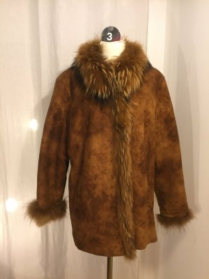 Gerry Weber Fake Fur Jacket multicolored fake fur