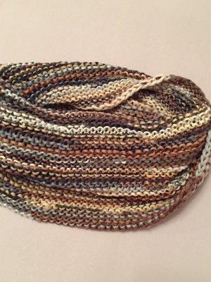 Sciarpone multicolore Tessuto misto