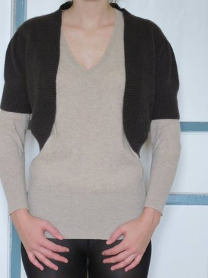 GCfontana Bolero dark brown merino wool