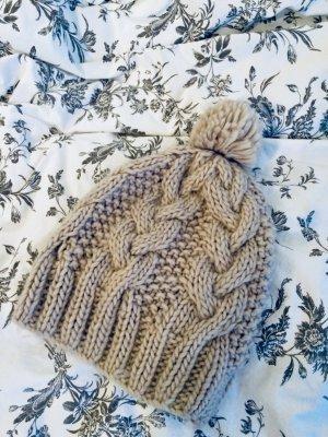 Accessorize Cappello a maglia beige