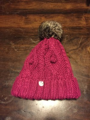 s.Oliver Knitted Hat purple