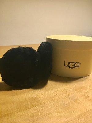UGG Orejeras negro Piel