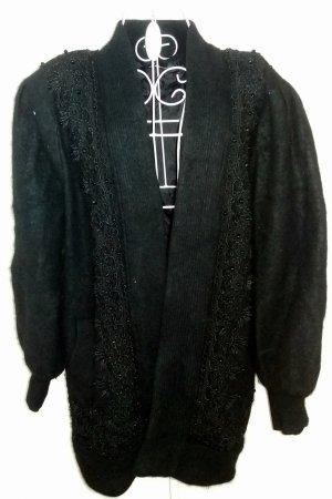 Kuschelige oversized Jacke aus Angora
