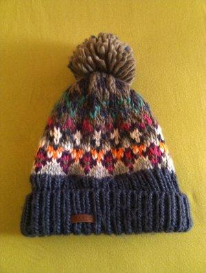 Barts Chapeau en tricot multicolore acrylique