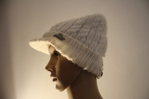 Protest Knitted Hat cream polyacrylic