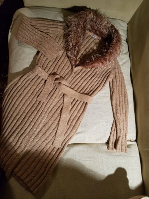 Knitted Coat beige