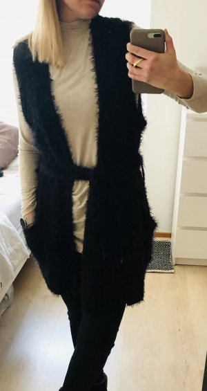 Edited Long Knitted Vest multicolored