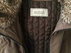 Winter Jacket multicolored cotton