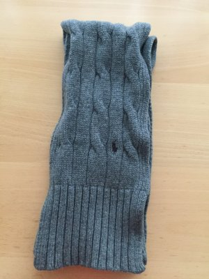 Ralph Lauren Knitted Scarf grey