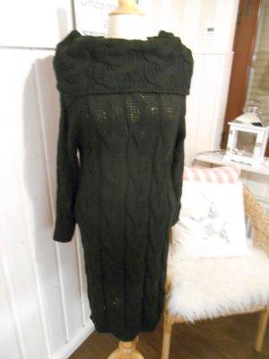 Sweater Dress black mixture fibre