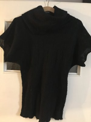 Urban Surface Short Sleeve Sweater black