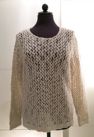 H&M Sweater white-gold-colored