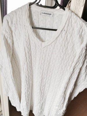Kuscheliger Oversize Pulli in weiß