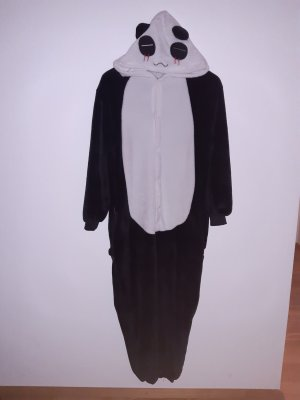 Kuscheliger Panda Einteiler sehr weich Onesie