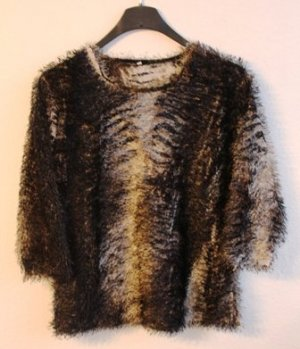 Kuscheliger Pullover aus Langgarn, 3/4 Arm, Vintage aus den 90er
